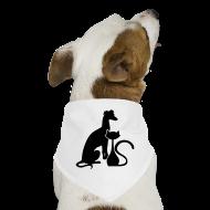 Other ~ Dog Bandana ~ PAWS Logo Black Dog Bandana