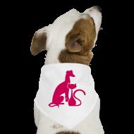 Other ~ Dog Bandana ~ PAWS Logo Pink Dog Bandana