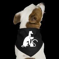 Other ~ Dog Bandana ~ PAWS Logo White Dog Bandana