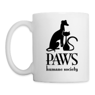 Mugs & Drinkware ~ Coffee/Tea Mug ~ PAWS Logo Black Mug