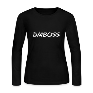DiaBoss - Women's Long Sleeve Jersey T-Shirt