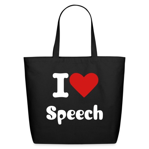 Speech Tote - Eco-Friendly Cotton Tote