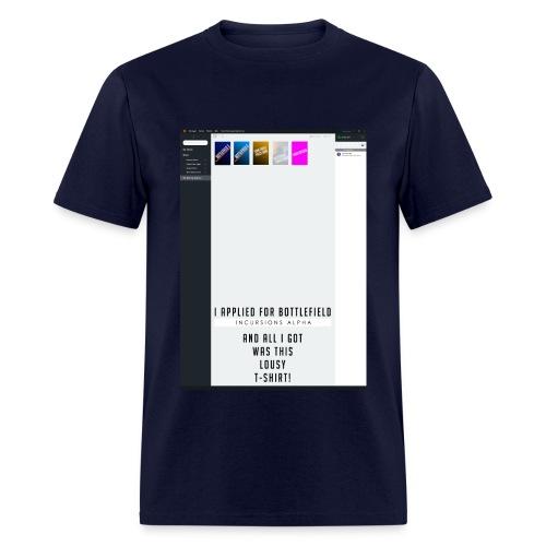 Battlefield 1 Incursions Alpha Invite - Men's T-Shirt