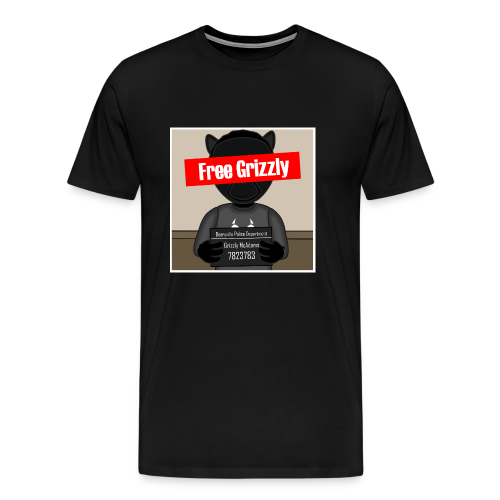 Free Grizzly - Men's Premium T-Shirt