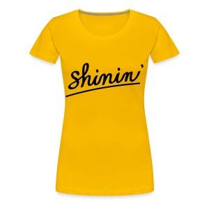 Grace Chasers Shinin' - Women (Fitted) - Women's Premium T-Shirt