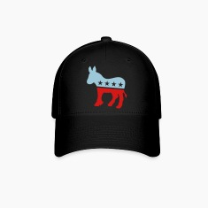 Democrat Donkey TWO COLOR Caps