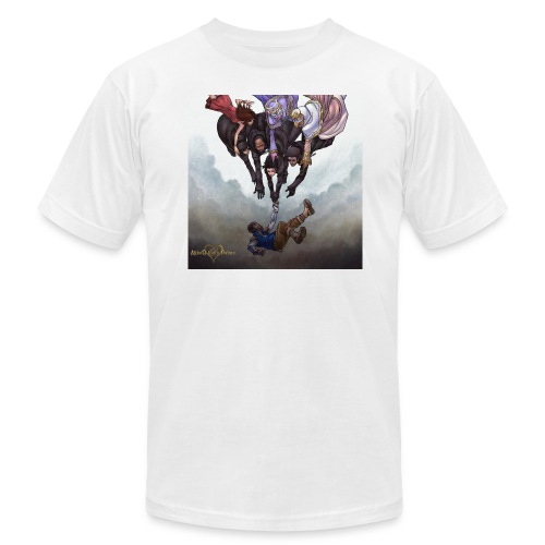 358/2 DAYS FC White (Male) - Men's Fine Jersey T-Shirt