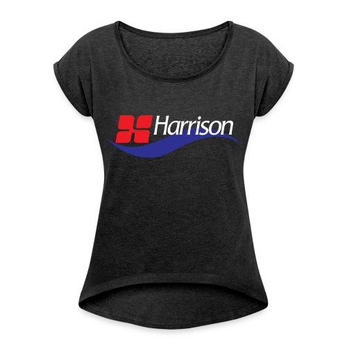 Rocker Girl's T-Shirt - Women's Roll Cuff T-Shirt
