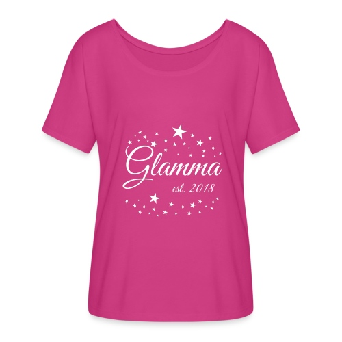 Glamma Established 2018 Slouchie - Women's Flowy T-Shirt