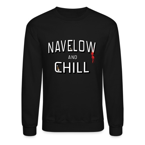 Nave & Chill (Crew Sleeve)  - Crewneck Sweatshirt