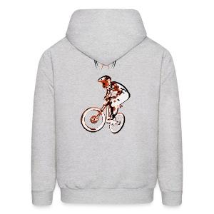 MTB Hoodie - Downhill Rider II - Men's Hoodie