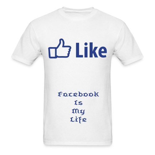 Facebook T - Men's T-Shirt