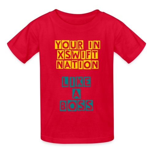 xSwiftNation Kids T-Shirt - Kids' T-Shirt