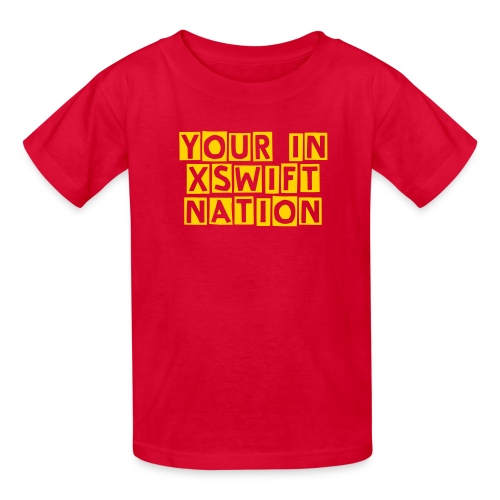 xSwiftNation Regular Text Kids T-Shirt - Kids' T-Shirt