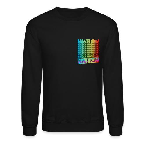 Retro Nation (Crew Sleeve) - SL - Crewneck Sweatshirt