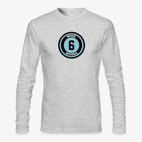 Big Buttons - Men's Long Sleeve T-Shirt by Next Level