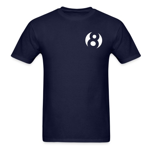 Cable 8 Productions - 8 Logo - Men's T-Shirt
