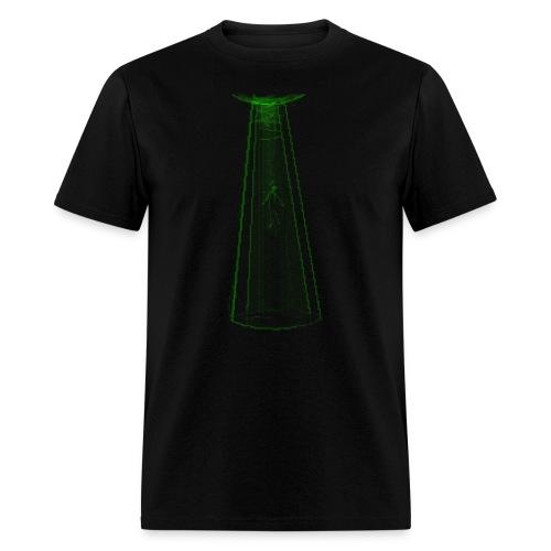 alien abduction - Men's T-Shirt