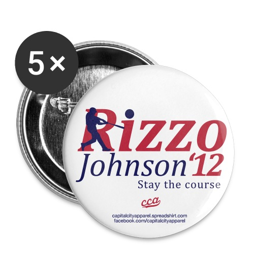 Rizzo/Johnson 2012 Buttons - Large Buttons