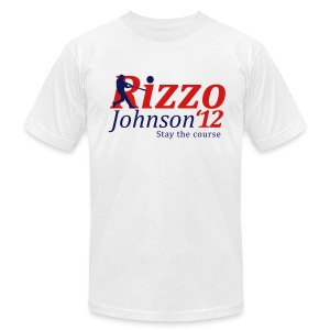 Rizzo/Johnson 2012 Tee - Men's T-Shirt by American Apparel