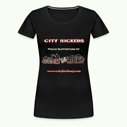 City Hickers Womens TShirt - Women's Premium T-Shirt
