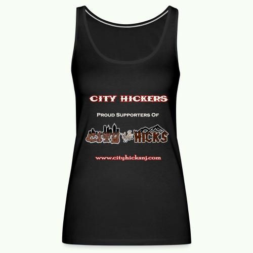 City Hickers Womens Tank - Women's Premium Tank Top