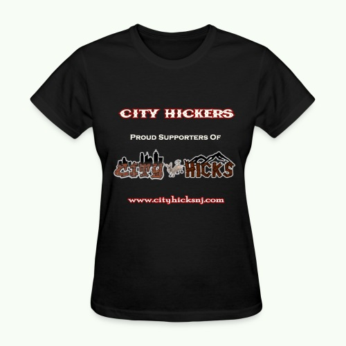 City Hickers Womens TShirt - Women's T-Shirt