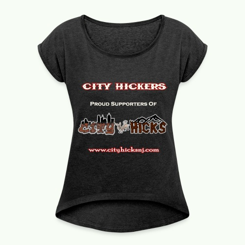 City Hickers Womens Roll Cuff Tank - Women's Roll Cuff T-Shirt