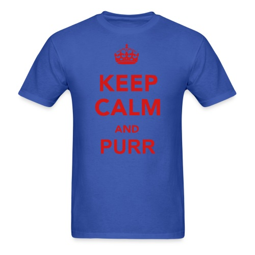 Keep Calm n Purr Tee - Men's T-Shirt