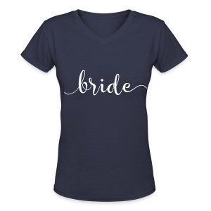 Bride Top - Women's V-Neck T-Shirt