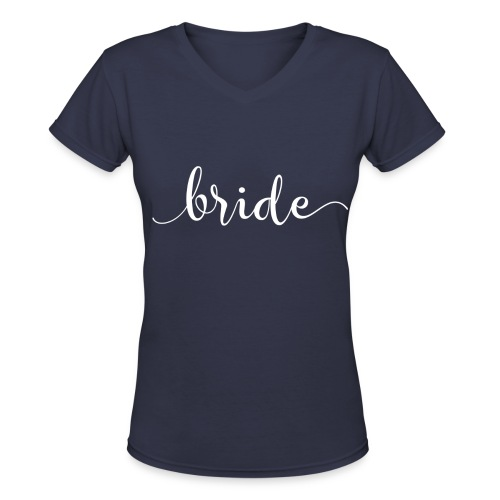 Bride Top - Women's V-Neck T-Shirt