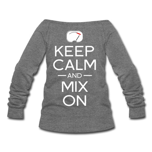 Mix Master Sweatshirt  ( Ladies ) - Women's Wideneck Sweatshirt