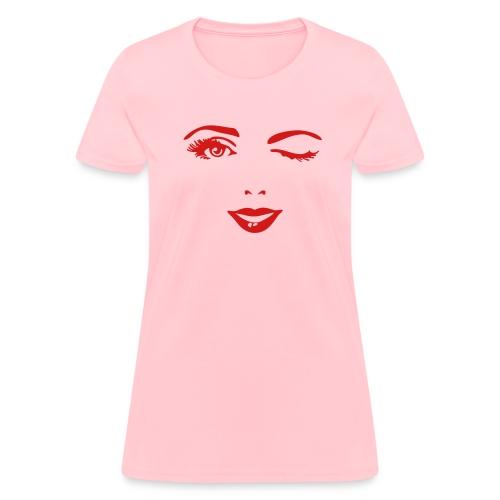 Woman's Face - Women's T-Shirt