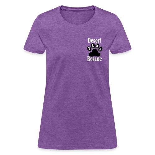Desert Paws Pocket Logo T - Women's T-Shirt