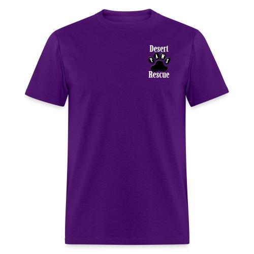 Desert Paws Pocket Logo T - Men's T-Shirt