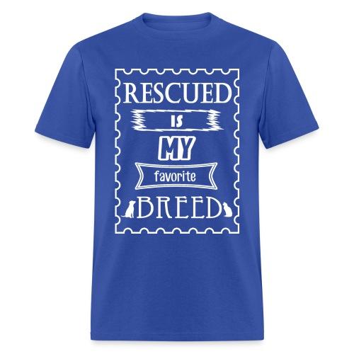 My Favorite Breed T - Men's T-Shirt