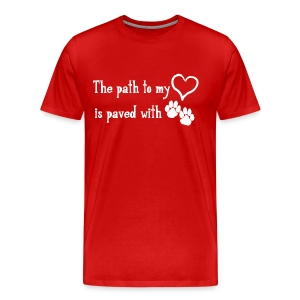 The Path to My Heart T - Men's Premium T-Shirt
