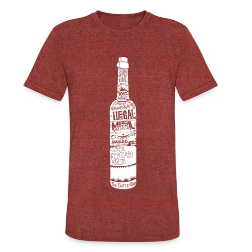 Bottle Crew Neck - Unisex Tri-Blend T-Shirt