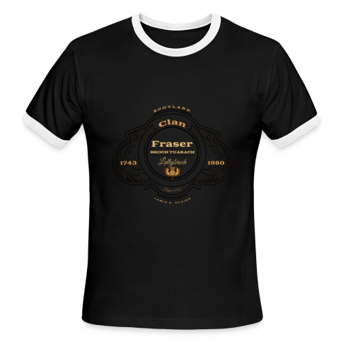 Outlander Clan Fraser Fan logo t-shirt - Men's Ringer T-Shirt