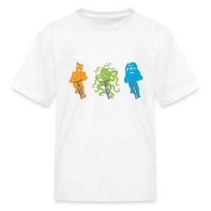 Alien Bike Team - Kids' T-Shirt