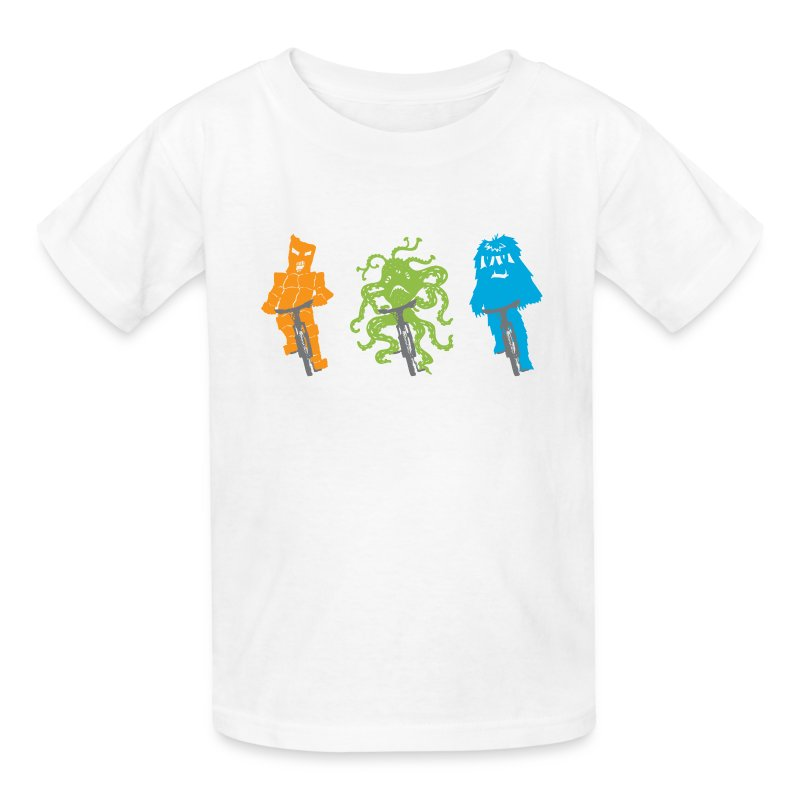 Alien Bike Team - Kids' T-Shirt