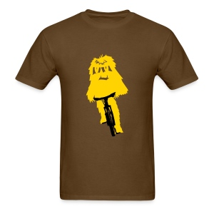 Yeti Monster Bike - Men's T-Shirt