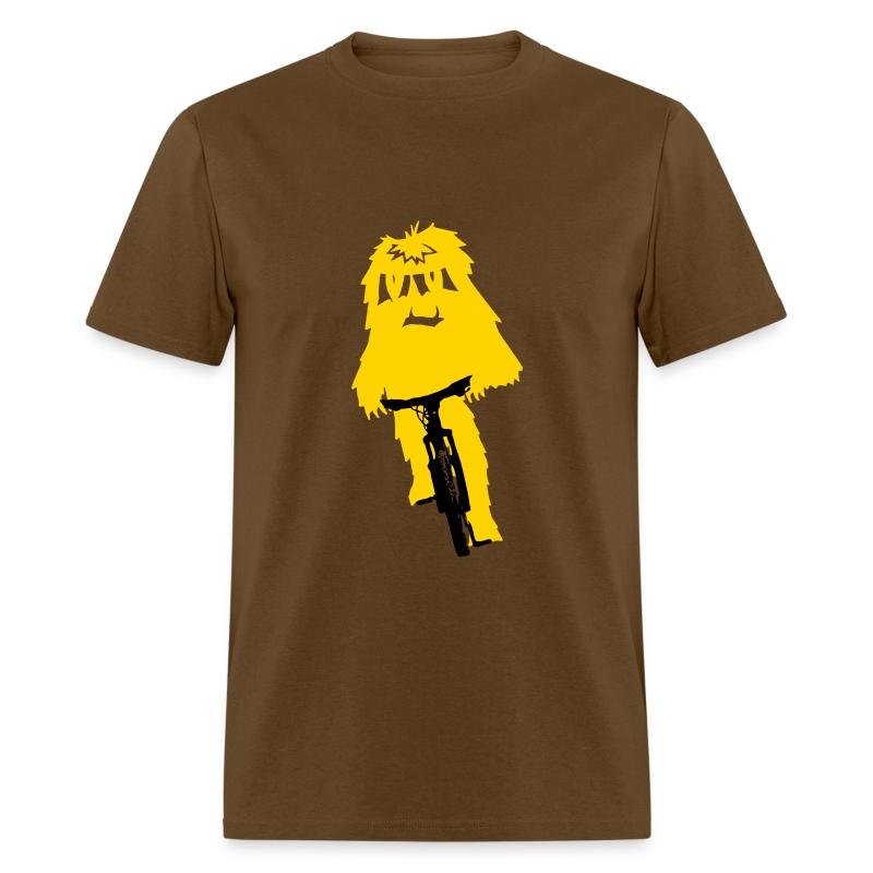 Yeti Monster Bike - Men's T-Shirt