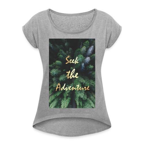 Women's Roll Cuff T-Shirt