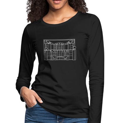 Chancellery in Berlin - Women's Premium Long Sleeve T-Shirt