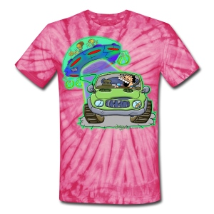 Ongher's UFO Abduction - Unisex Tie Dye T-Shirt