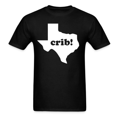 crib!! (Men's) Texas - Men's T-Shirt