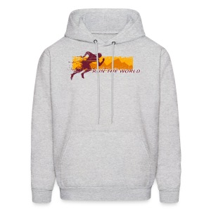 Run the world hoodie - Men's Hoodie