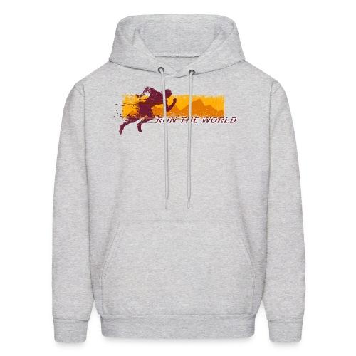 Run the world hoodie - Men's Hoodie