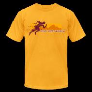 T-Shirts ~ Men's T-Shirt by American Apparel ~ Run the World T-shirt